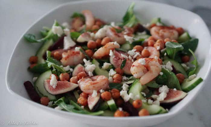 Sumac Shrimp Salad