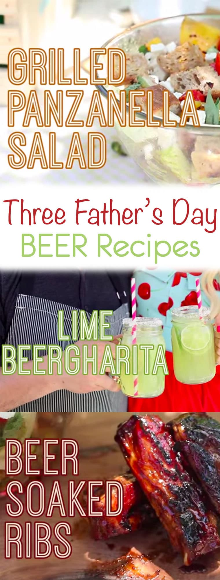 What could be more dad-day friendly than some beer recipes on the BBQ? To celebrate, I got together with one of my favourite friends and foodies, Matt Basile of Fidel Gastros for a little Father's Day Beer & BBQ Throwdown!
