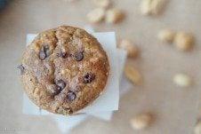 gluten free peanut butter chocolate muffins