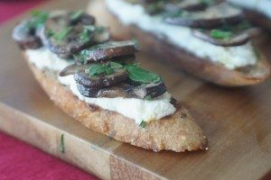 healthy easy bruschetta recipe