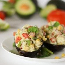 low fat avocado chicken salad