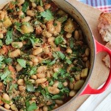vegan cassoulet