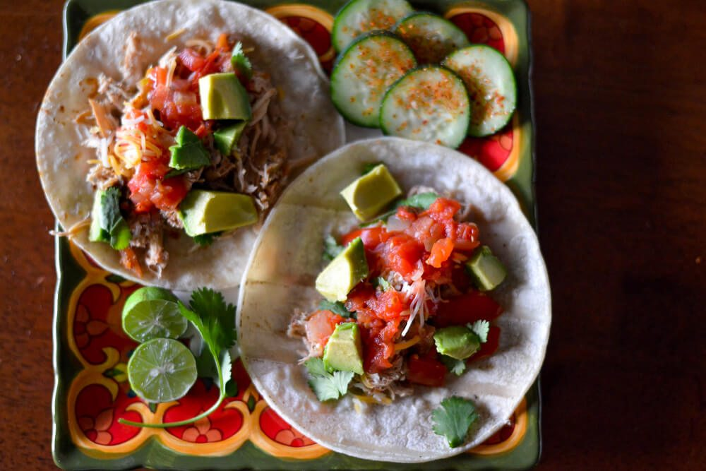 christy wilson nutrition - chicken tacos