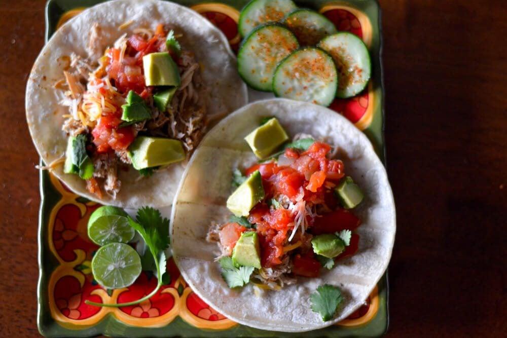christy wilson nutrition - chicken tacos