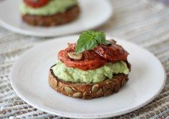 High Protein Avocado Toast