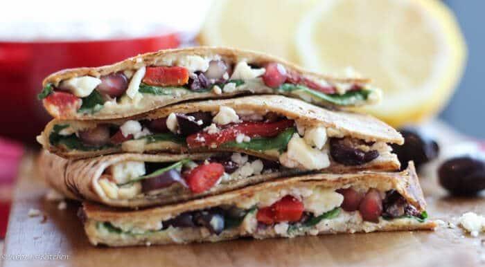 hummus vegetarian quesadilla (6 of 8)