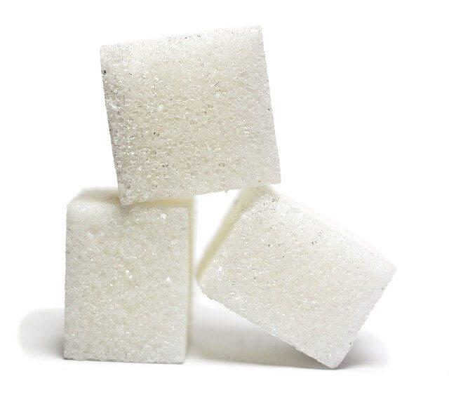 Cube sugars.