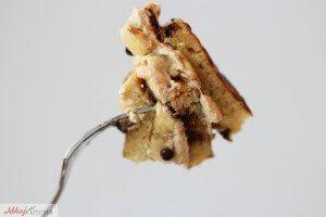 Chocolate Peanut Butter Banana Protein Pancakes | Gluten Free & Healthy