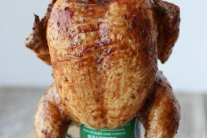Gluten Free Beer Can Chicken with Asian Glaze | Father's Day BBQ Recipe