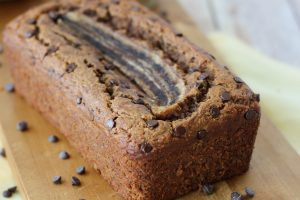 Gluten Free Chocolate Chip Banana Bread | Dairy-Free & Super Moist!