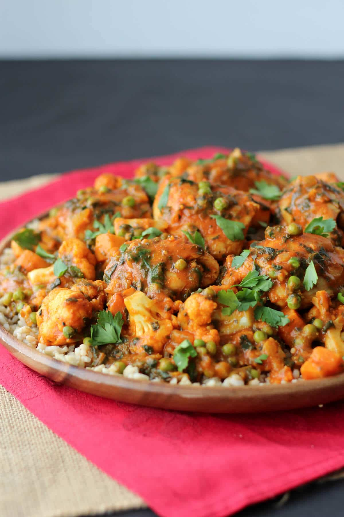 Cauliflower and Chicken Curry Recipe images