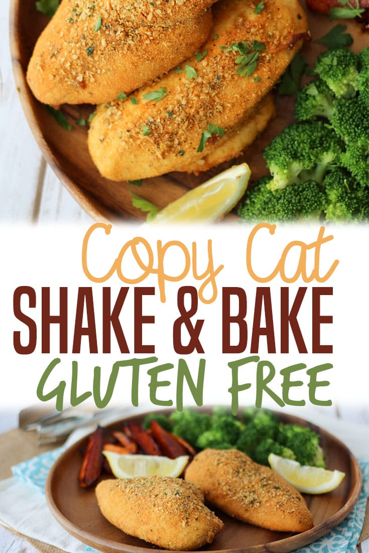 This Gluten Free Shake and Bake Chicken Recipe is a healthy DIY copycat version of the boxed seasoning mix that will help add tons of flavour to your chicken dinner in a flash! #glutenfreerecipes #shakeandbake #homemade #diy #healthyrecipe #chickenbreast