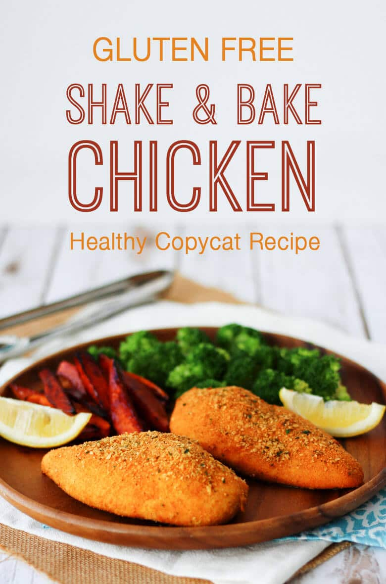 This Gluten Free Shake and Bake Chicken Recipe was developed in partnership with HP and is a healthy copycat version of the boxed seasoning mix that will help add tons of flavour to your chicken dinner in a flash!