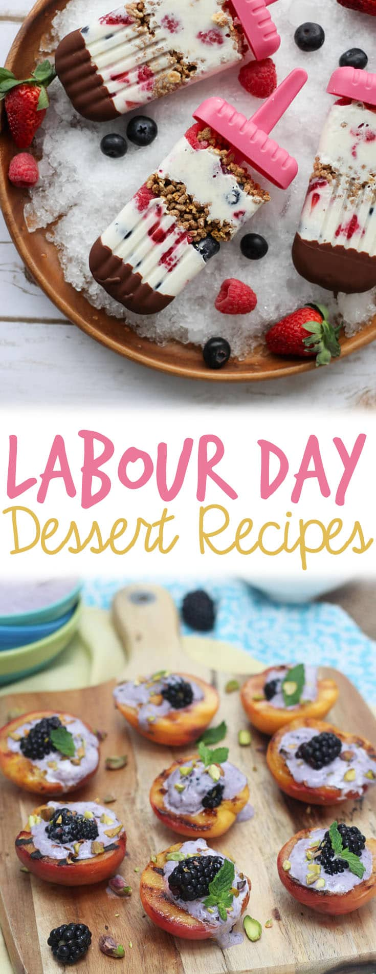These Labor Day healthy dessert recipes will help you end your BBQ (and Summer, in general) with a total bang!