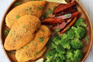 Gluten Free Shake and Bake Chicken   Healthy Copycat Recipe