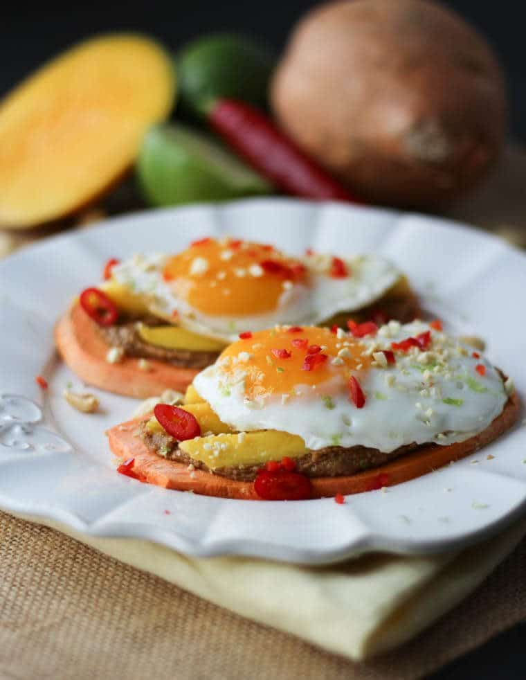 Peanut butter and fried egg combo you will love this gluten free