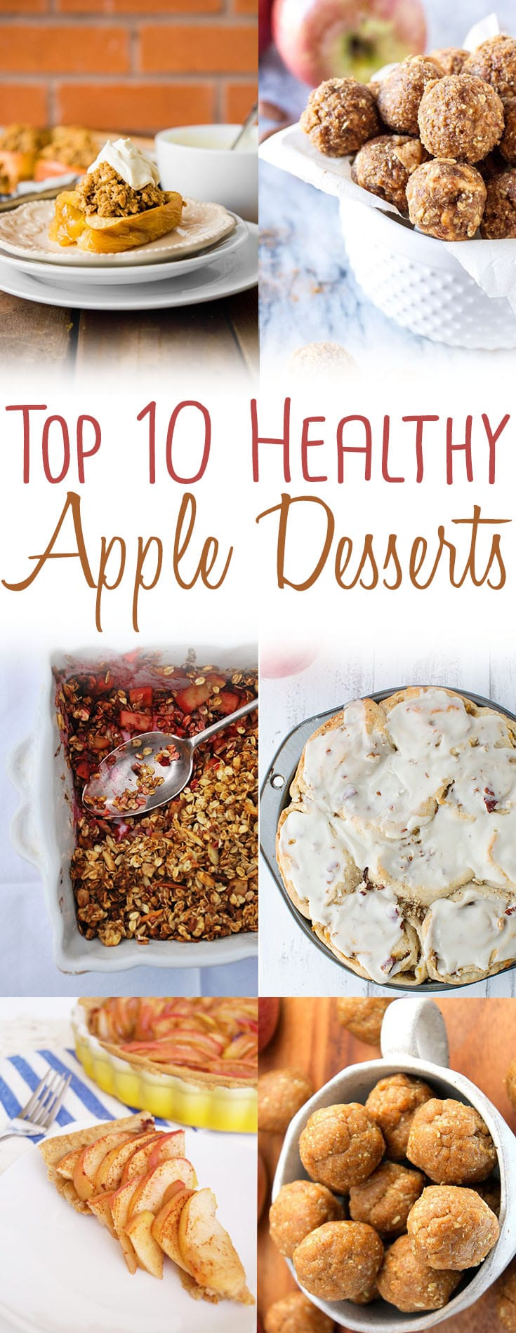 Check out my favourite healthy apple desserts and a the best uses for different apples depending on their flavour and texture.