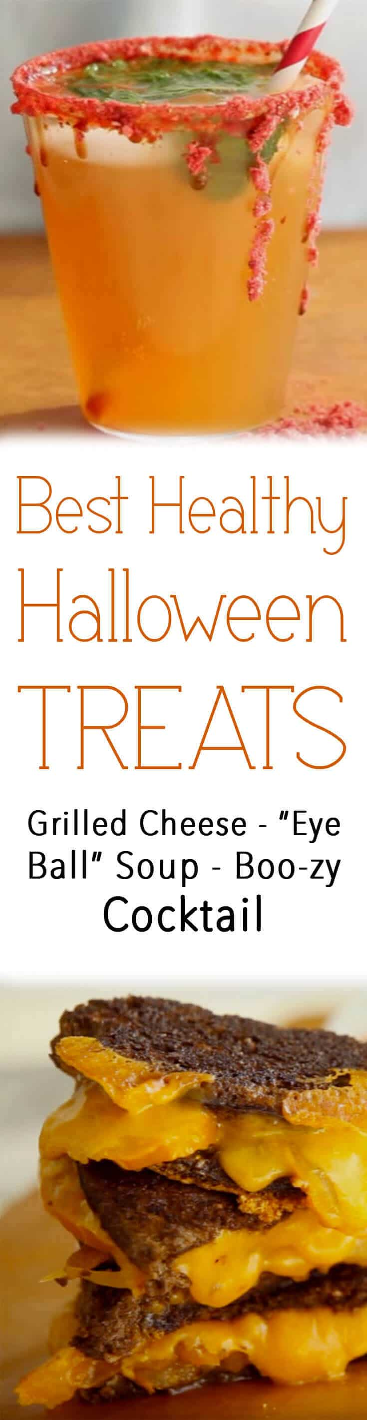 These healthy Halloween treats will satisfy the inner kid in all of us this Hallows' Eve!