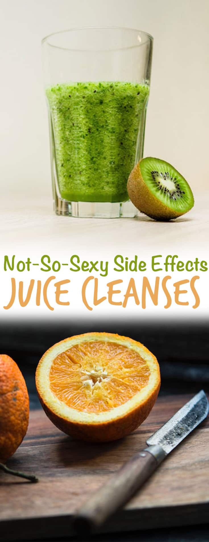 I share the not-so-sexy side effects of juice cleanse diets in this surprising tell-all!