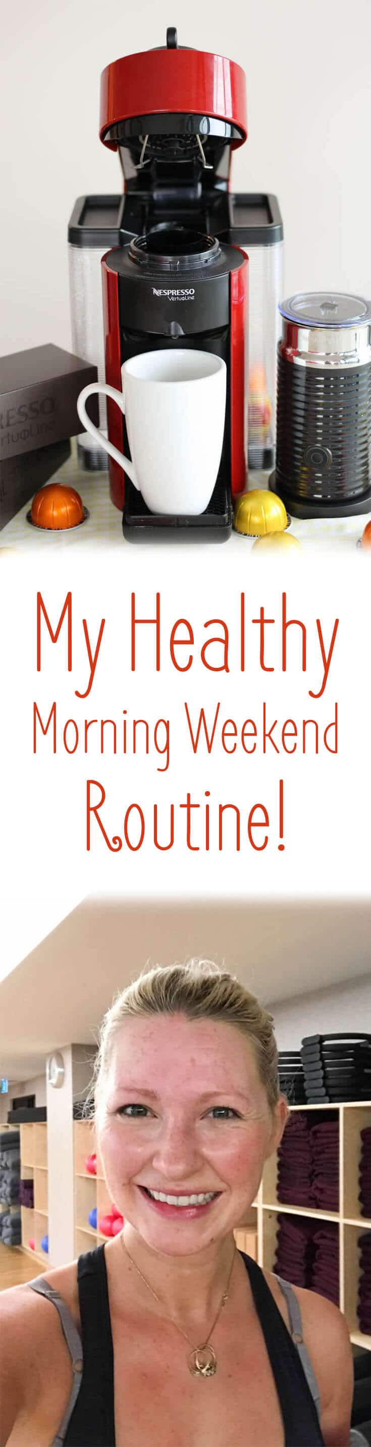 I share my healthy morning weekend routine and my thoughts on the dangers of Cheat Day!