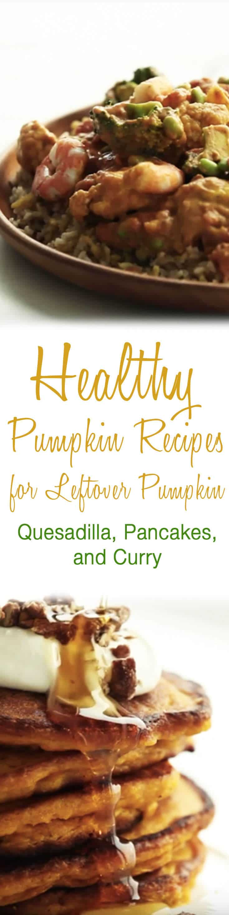 Our favourite healthy pumpkin recipes to help you use your leftover pumpkin from the holidays and Thanksgiving!