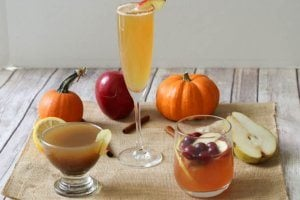 3 Healthy Fall Holiday Cocktails | Lightened Up Party Drinks