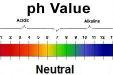 pH Value chart.
