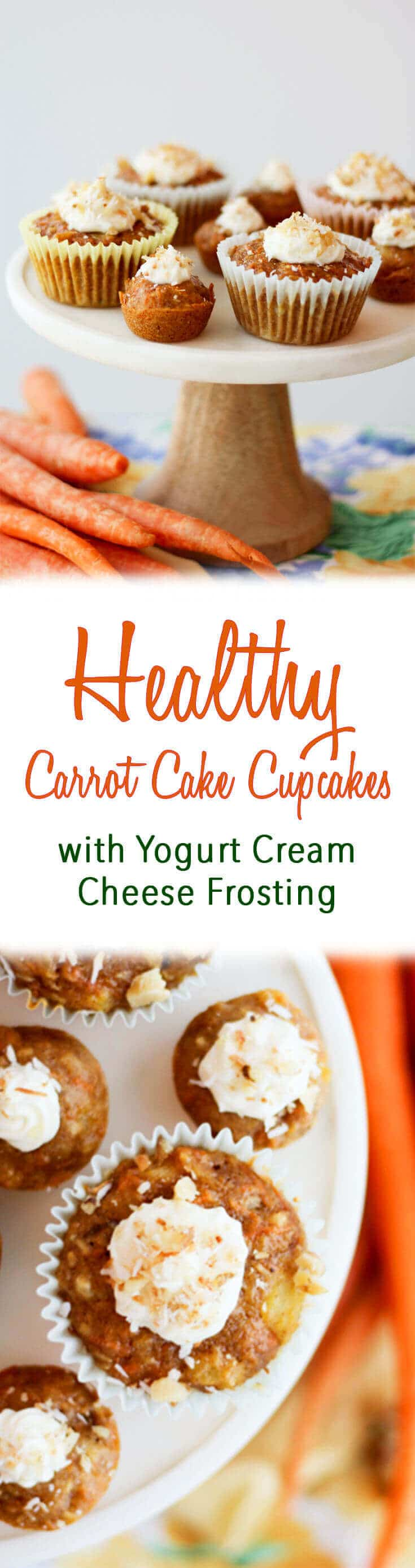 Mini Carrot Cake Cupcakes Calories