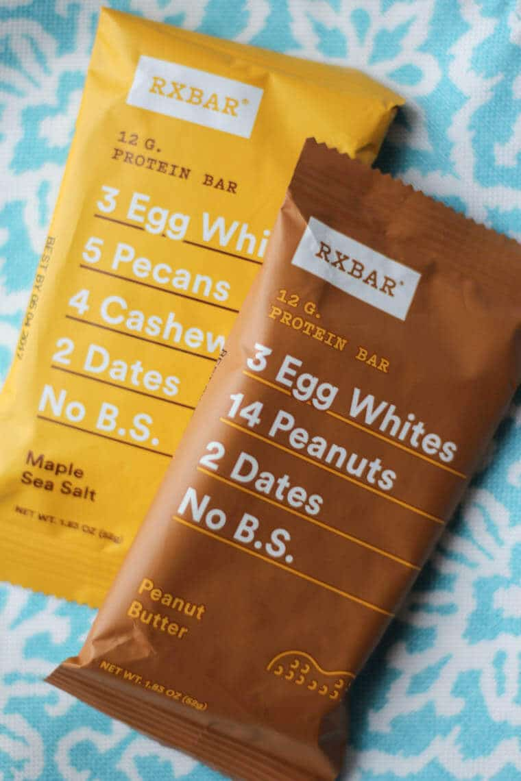Two RXBARs.