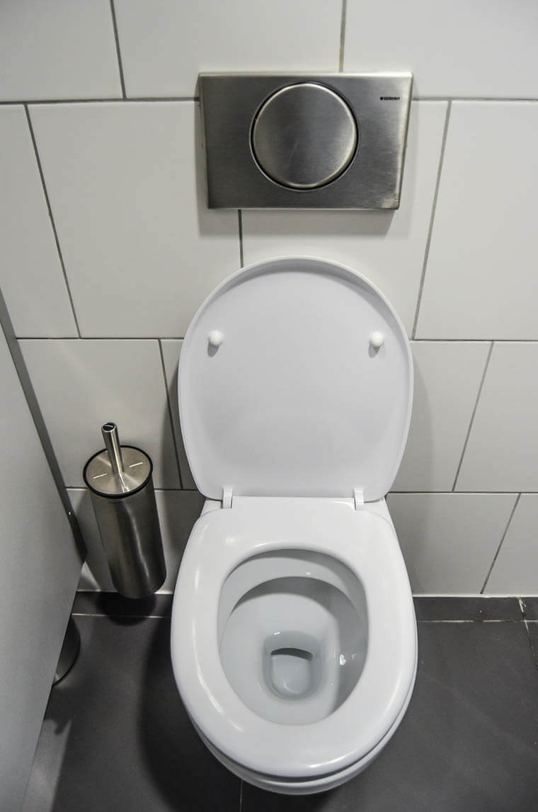 Image of a toilet.