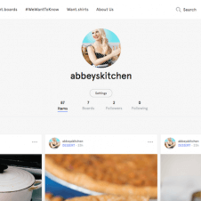 This article includes some surprising facts about Abbey Sharp (me!), the girl behind Abbey's Kitchen. I share what this girl wants and talk about my favourite new app, Wantfolio.