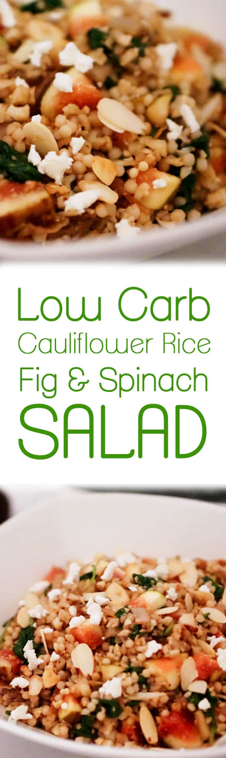 This Low Carb Cauliflower Couscous Salad is light, delicious, and an easy dish to make for the week ahead.