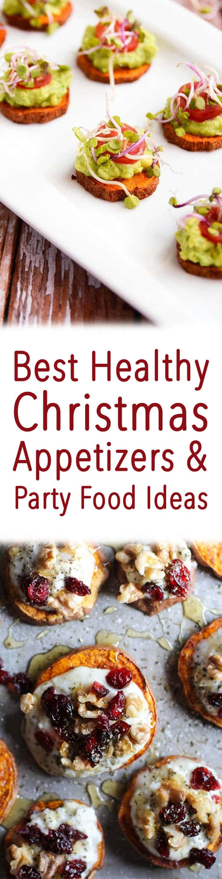 These Healthy Holiday Appetizers are my favourite picks for the festive season!