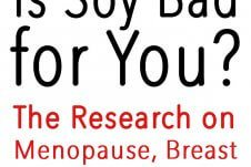 I answer the question, is soy bad for you? A look at the research on soy and menopause, breast cancer and heart health!