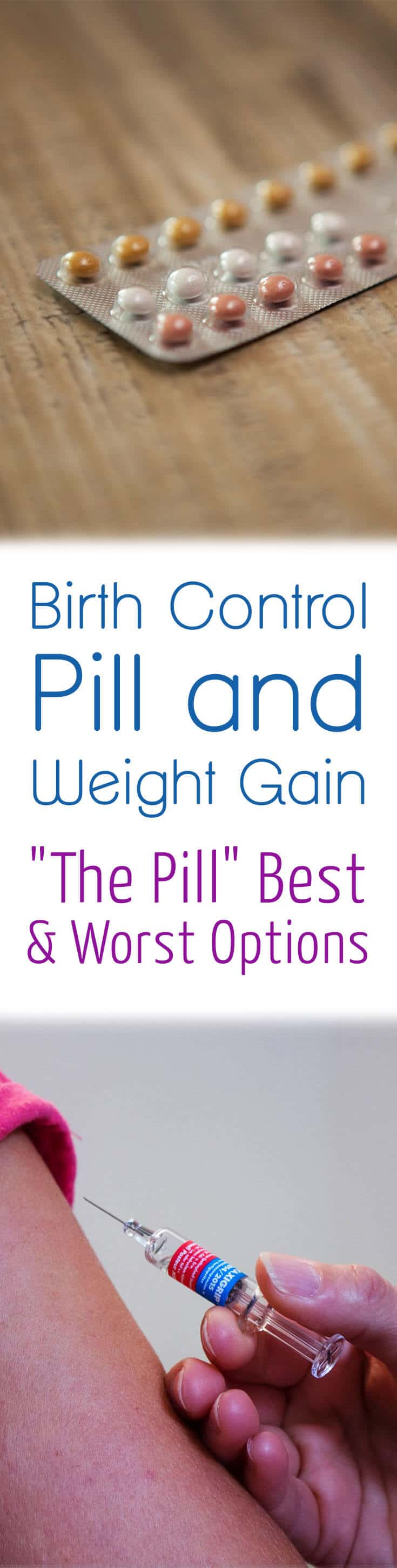 Best birth control options to avoid weight gain