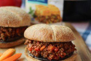 Vegan Sloppy Joes with Roasted Portobello Mushrooms
