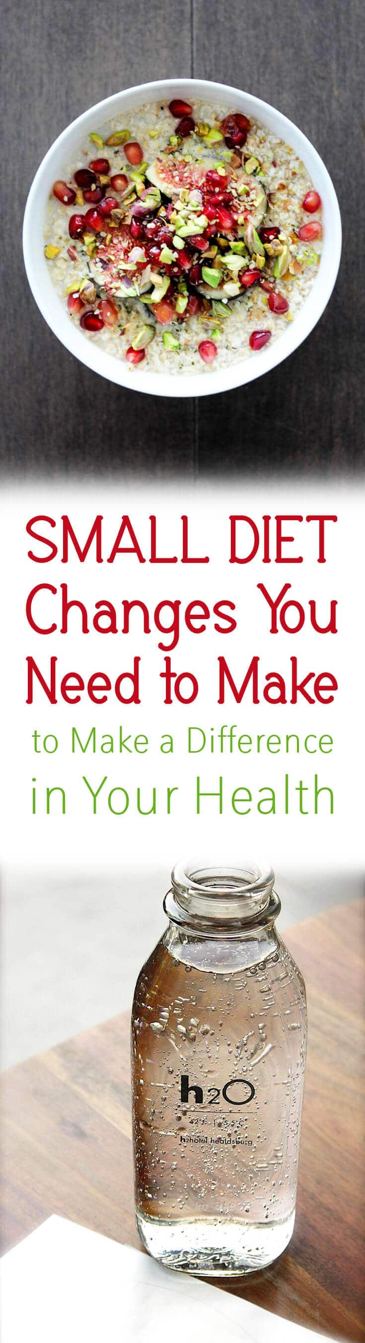 I share my top 10 Small Diet Changes You NEED to Make BIG Difference to Your Health for Nutrition Month!