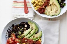 Two protein breakfast bowls.