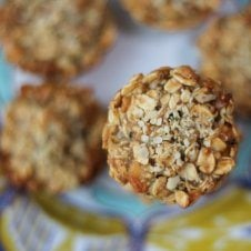 These apple pie vegan protein granola cups are perfect post-workout recovery snacks made with vanilla protein powder, nuts and apples.These apple pie vegan protein granola cups are perfect post-workout recovery snacks made with vanilla protein powder, nuts and apples.