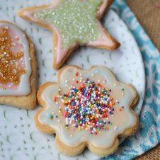 Gluten Free Almond Sugar Cookies | Healthy Mother's Day Dessert