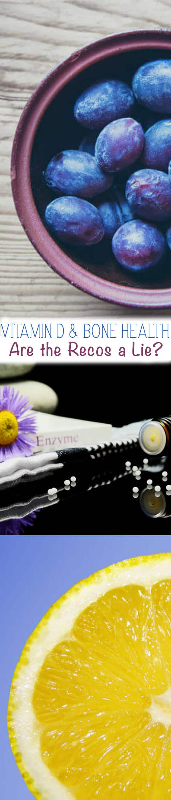 How Much Vitamin D do We Need? In this post, we share the current research on Vitamin D and bone health including info on where the controversial vitamin D recommendations come from.