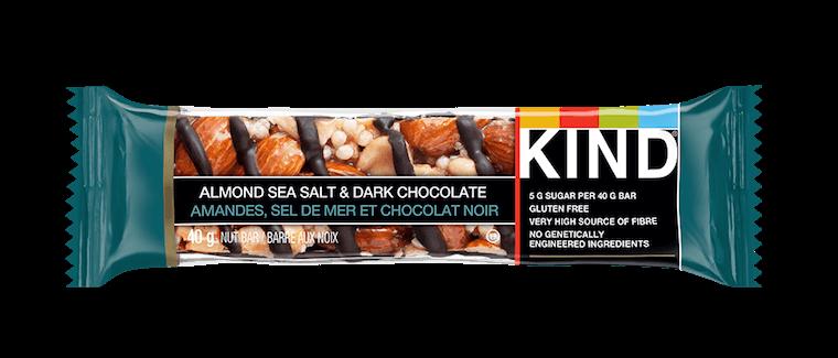 A KIND granola bar.