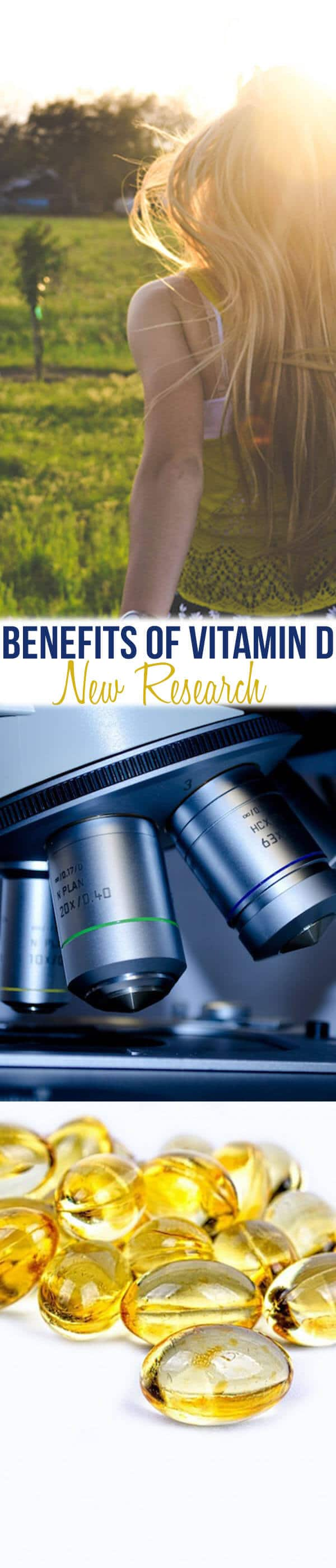 How much Vitamin D should you take? In this post we share the current research on non-bone building benefits of vitamin D and I tell you how much you REALLY need to take to be healthy.