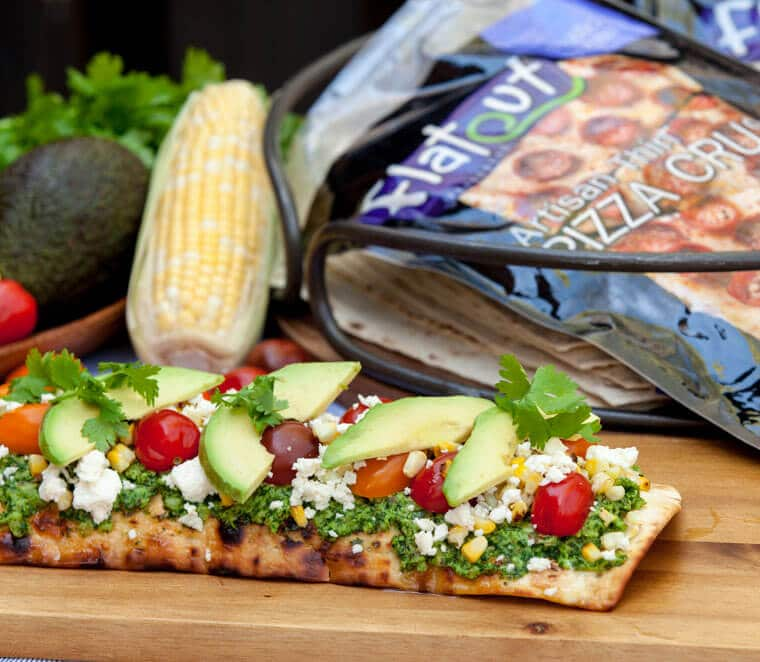 I share my three favourite healthy grilled pizza recipes including a pear and blue cheese pizza, BBQ chicken pizza and a corn cilantro pesto pizza with avocados.