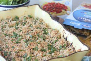 Gluten Free Four Mushroom Penne Pasta Bake   Healthy Family Dinner