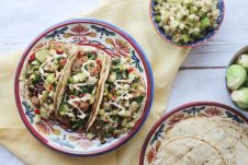 Best Healthy Taco Recipes for Cinco de Mayo! #vegantacos #cincodemayo #tacos #glutenfreefood #plantbased #highprotein #tacorecipes #mexicanfood #healthyfood #healthyeating #celebration