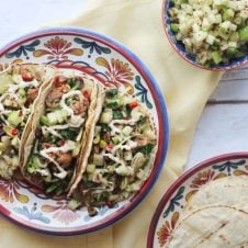 Best Healthy Taco Recipes for Cinco de Mayo! #vegantacos #cincodemayo #tacos #glutenfreefood #plantbased #highprotein #tacorecipes #mexicanfood #healthyfood #healthyeating #celebration