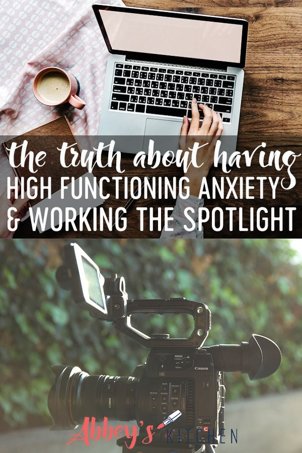 the truth about high functioning anxiety, working the spotlight and how to manage anxiety #anxiety #spotlight #healthtips #wellness #health #healthylifestyle