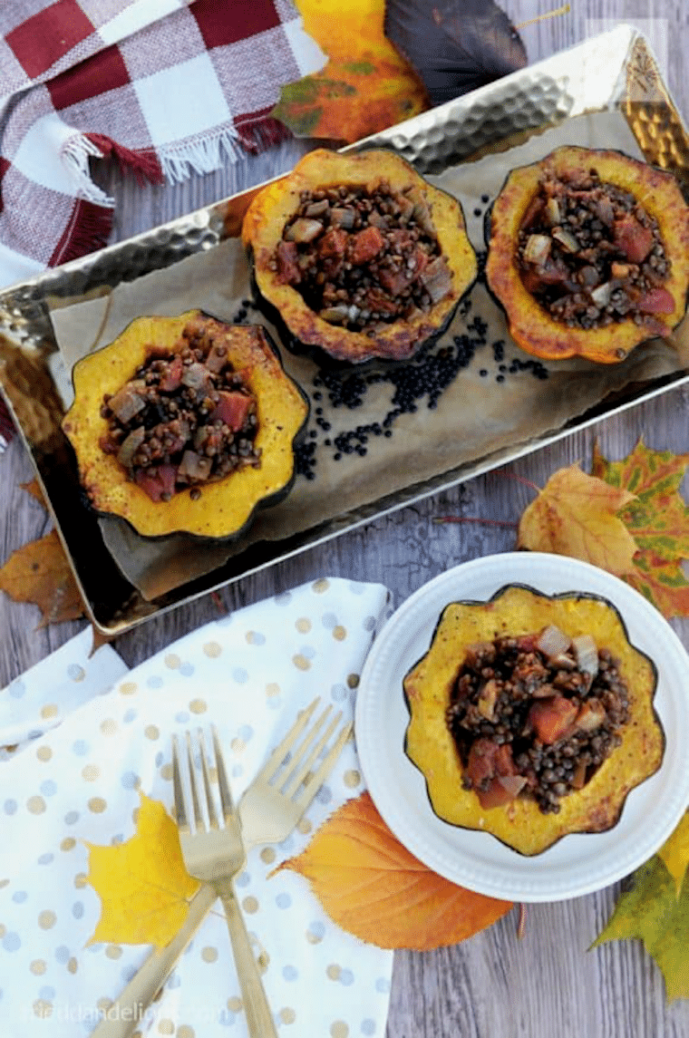 Below are 15 vegan thanksgiving main dishes that will be a great addition to your Thanksgiving dinner (note these don't require a turkey, chicken, or duck, … or a combination of all three in one).