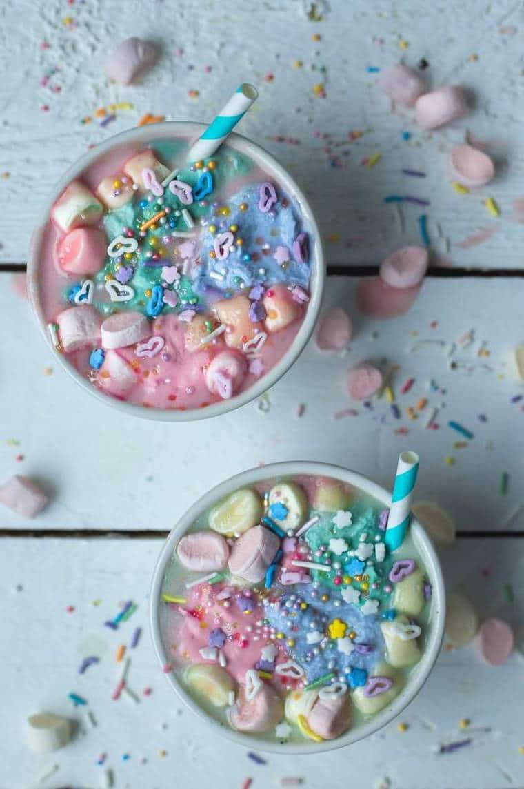 I'm keeping the unicorn trend alive by sharing 14 of the best healthy unicorn recipes.